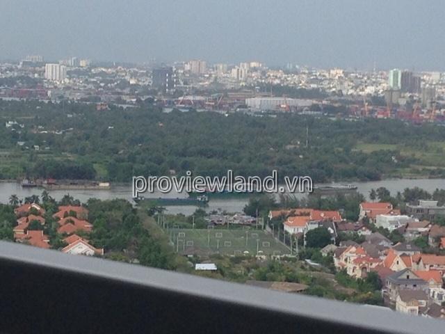 Cho thuê căn hộ cao cấp Thảo Điền Pearl DT 95m2 2PN view sông ĐĐNT