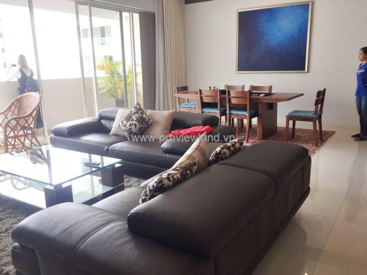 Cho thuê căn hộ The Estella 171m2 3PN view đẹp nội thất cao cấp đầy đủ
