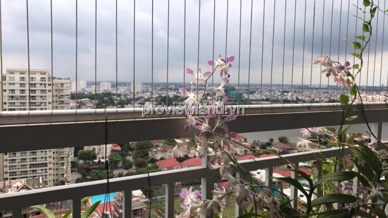 Căn hộ Tropic Garden tháp C1 tầng cao DT 112m2 3PN view sông bán