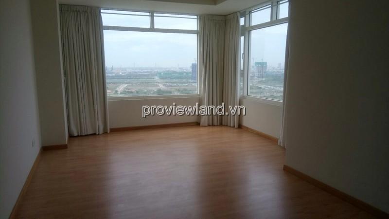 Cho thuê căn hộ Saigon Pearl với DT 207m2 4PN view sông Sai Gòn