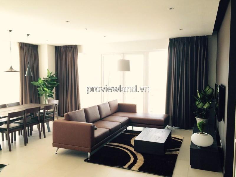 Cho thuê căn hộ Đảo Kim Cương 178m2 3PN tháp T4 nội thất đầy đủ