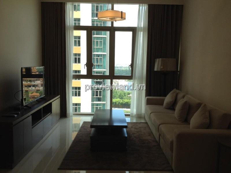 Căn hộ The Vista cho thuê T5 tower 2 phòng ngủ ban công lớn view xa lộ
