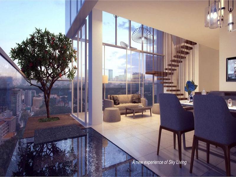 Serenity Sky Villa căn hộ hạng sang tại Quận 3 bán một số căn hộ 2 phòng ngủ