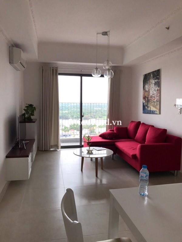 Căn hộ Masteri cho thuê tháp T4 tầng cao view sông 92m2 3PN nội thất cao cấp