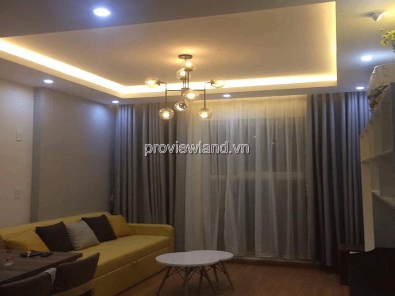 Cho thuê căn hộ Thủ Thiêm Sky vị trí đẹp tầng 6 DT 58m2 2PN đầy đủ nội thất