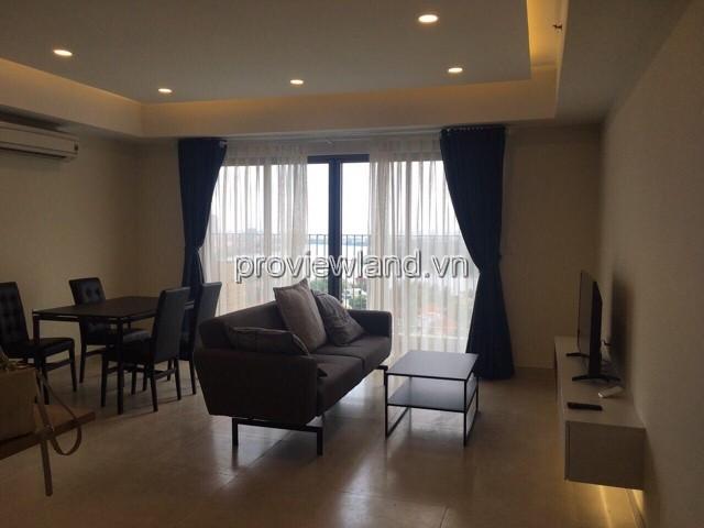 Cho thuê căn  hộ Masteri tháp T4 Block B tầng 19 DT 93m2 3PN view sông