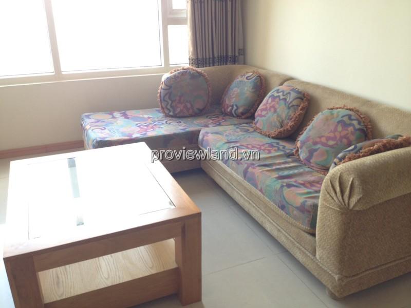Cho thuê căn hộ Saigon Pearl tại tháp Ruby 1 tầng 7 DT 99m2 3PN đầy đủ nội thất