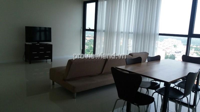 Cho thuê căn hộ The Ascent có diện tích 100m2 3PN view Quận 1 đầy đủ nội thất