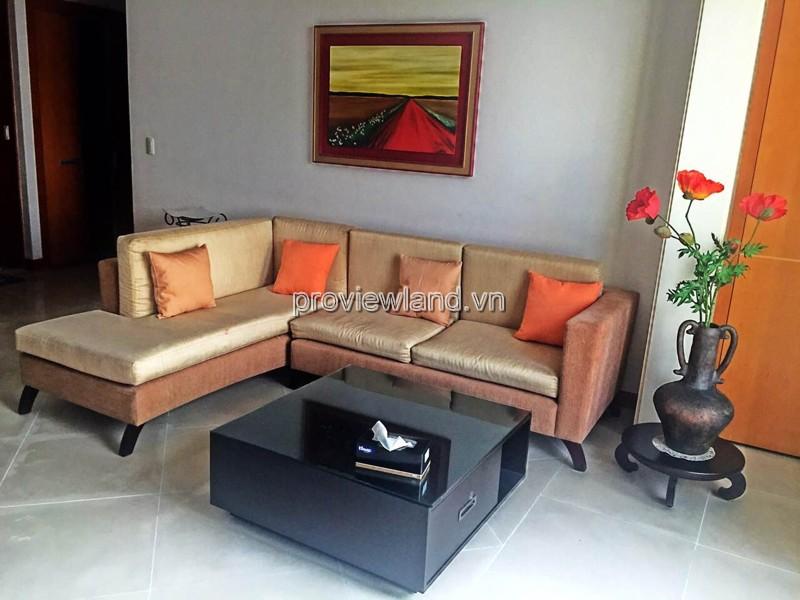 Cho thuê căn hộ The Manor DT 100m2 2PN tầng 24 view sông Sài Gòn và Quận 1