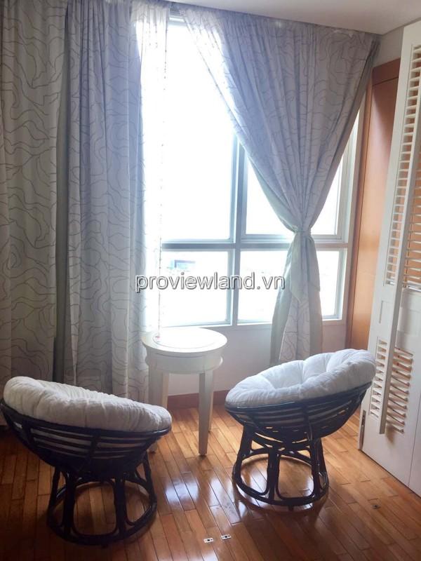 Bán căn hộ The Manor tầng cao có diện tích 100m2 2PN view sông đầy đủ nội thất