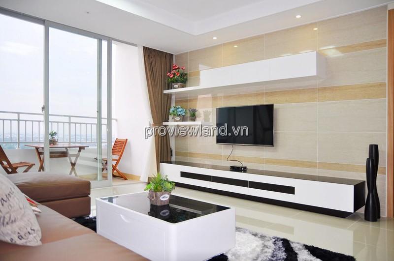 Cho thuê căn hộ Cantavil Premier với diện tích 125m2 3 phòng ngủ view đẹp
