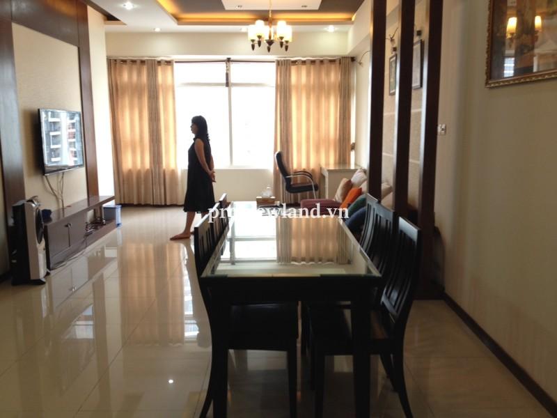 Căn hộ Saigon Pearl Bình Thạnh 122m2 3PN nội thất đầy đủ tầng cao tòa Ruby 2
