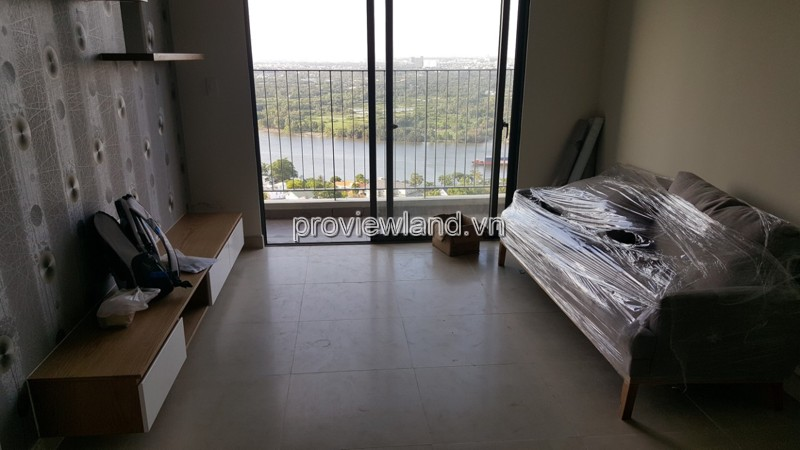 Cho thuê căn hộ Mastrei 76m2 2PN tầng cao Block B tháp T4 full nội thất