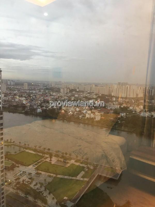 Căn hộ  dịch vụ Saigon Pearl cho thuê cso DT 84m2 2PN tầng cao tháp Ruby 1