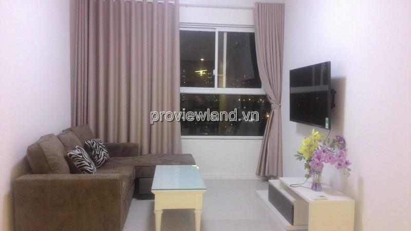 Cho thuê căn hộ Galaxy 9 Quận 4 tầng 7 DT 70m2 2PN đầy đủ nội thất