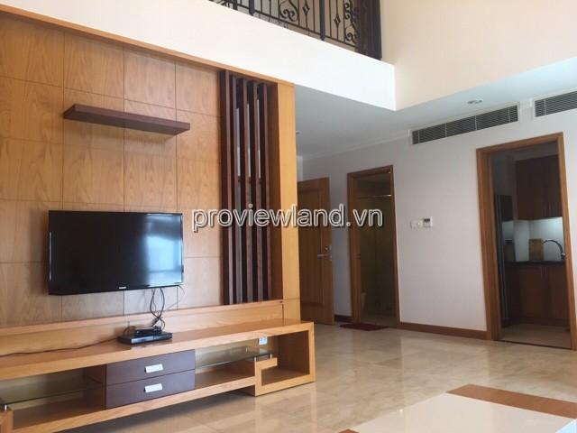 Cho thuê căn hộ Duplex Saigon Pavillon với diện tích 124m2 2PN đầy đủ nội thất