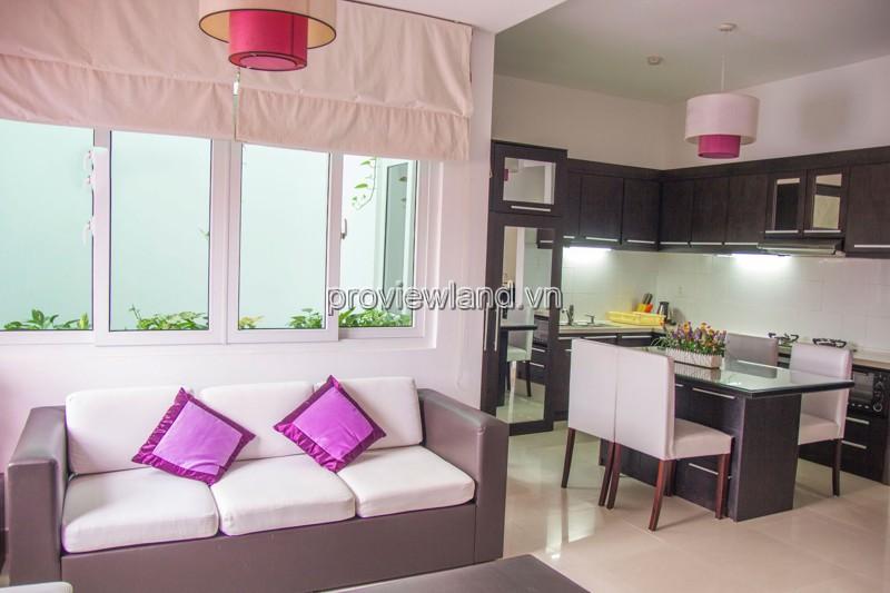 Cho thuê căn hộ dịch vụ Petunia tại Quận 2 gồm 2PN DT 85m2 full nội thất