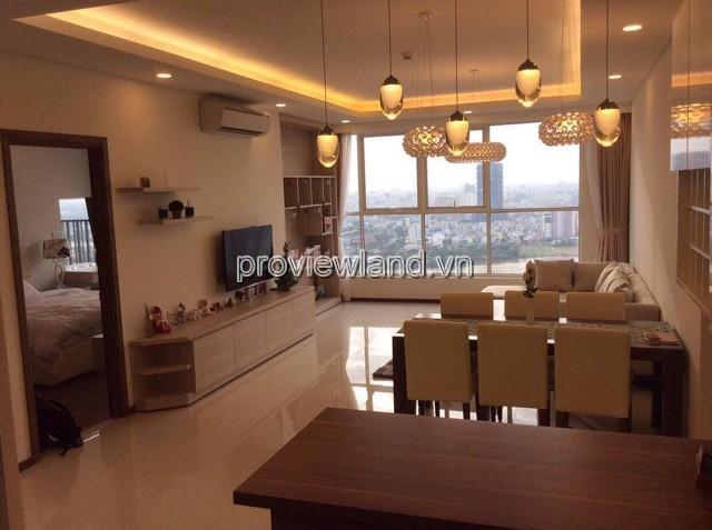 Căn hộ Thảo Điền Pearl cho thuê tầng cao view sông DT 134m2 3PN full nội thất