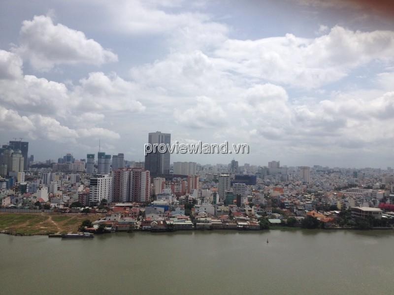 Cho thuê căn hộ Hoàng Anh River View Block A tầng 20 DT 177m2 4PN
