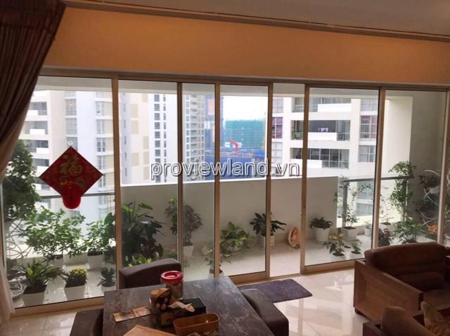 Cho thuê căn hộ Estella tại Block 1A 171m2 3PN view hồ bơi