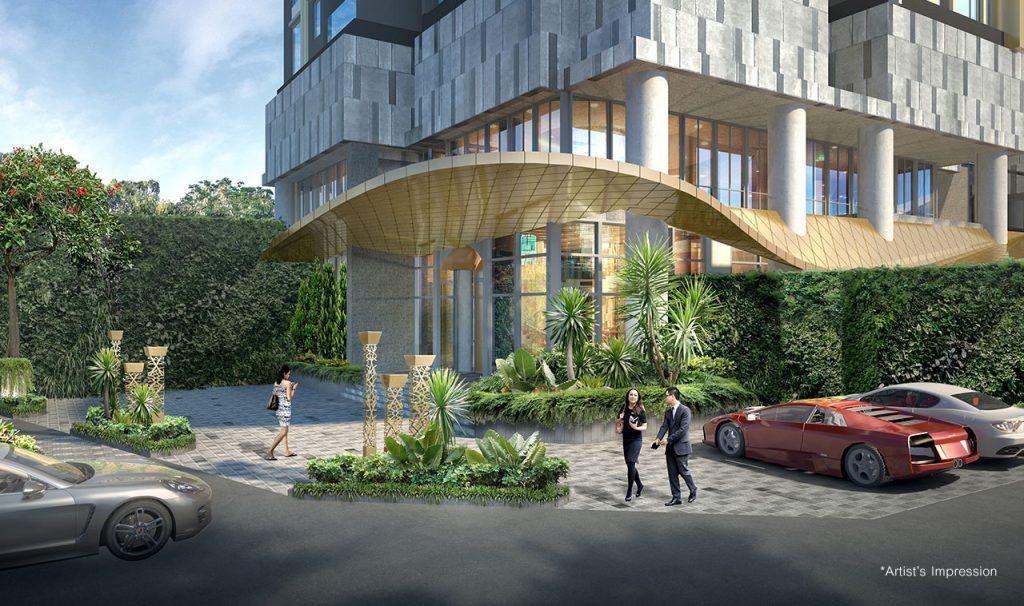 Dự án căn hộ cao cấp D1 Mension quận 1
