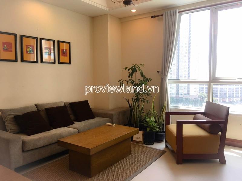 Cho thuê căn hộ The Manor Quận Bình Thạnh Tháp C tầng cao DT 74m2 2PN
