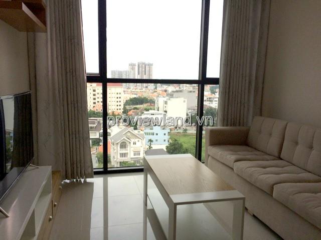 Cho thuê căn hộ Ascent Quận 2 DT 70m2 tầng cao 2PN View City