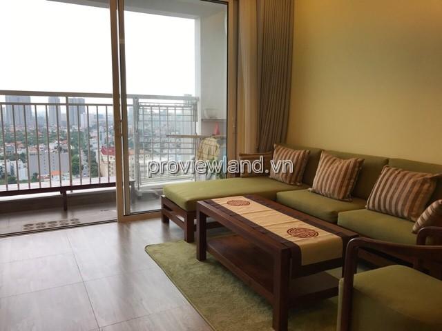 Cho thuê căn hộ Tropic Garden Quận 2 DT 73m2 2PN tầng cao view đẹp
