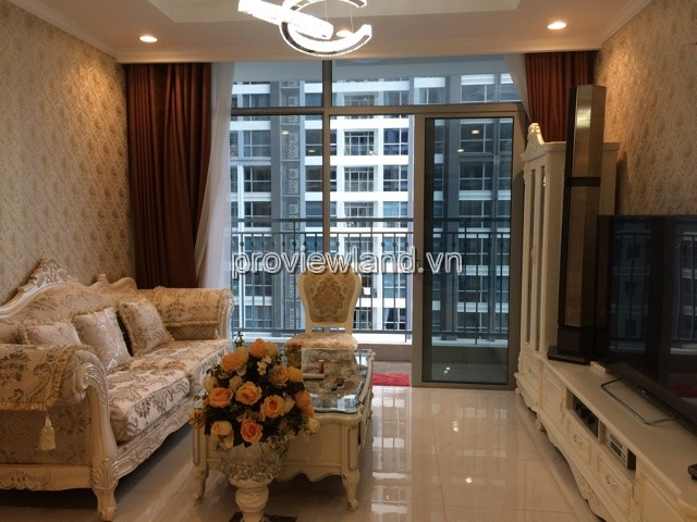 Căn hộ Vinhomes Quận Bình Thạnh cho thuê tầng 10 DT 115m2 3PN view sông