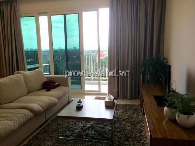 Cho thuê căn hộ Xi Rivirview Quận 2 DT 145m2 3PN view sông tầng thấp