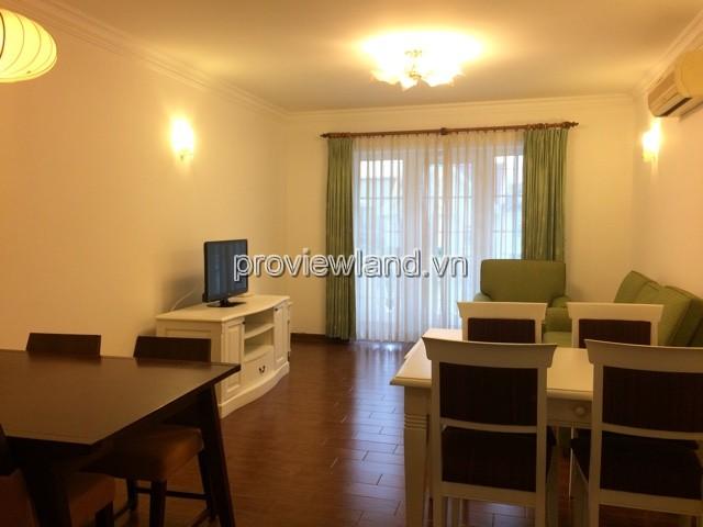 Cho thuê căn hộ dịch vụ quận 2 Sunrise 80m2 2PN đầy đủ nội thất