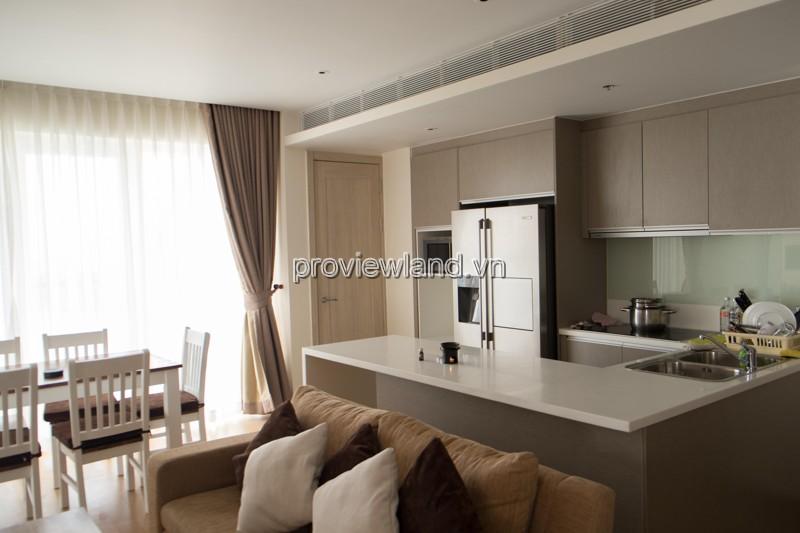 Bán căn hộ Đảo Kim Cương tháp T3 lầu 10 view sông DT 100m2 2PN full nội thất