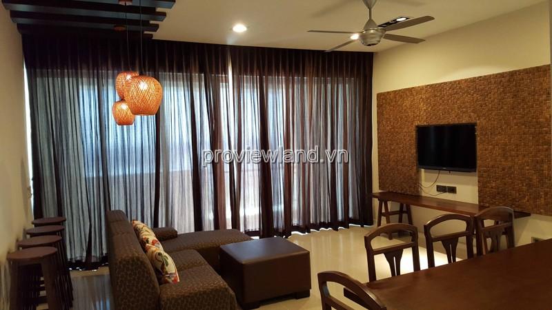Cho thuê căn hộ Estella Blcok 3B tầng cao diện tích 102m2 2PN nội thất đầy đủ