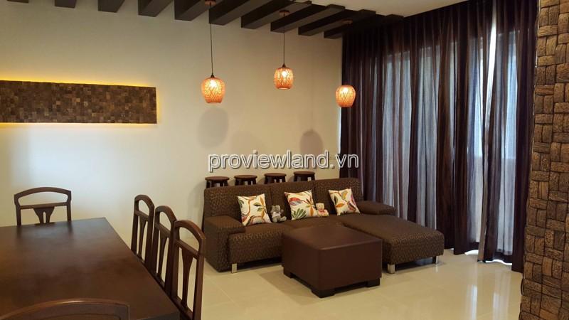 Căn hộ Estella bán tầng 20 Block 3B DT 102m2 2PN nhà đẹp đầy đủ nội thất