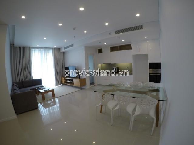 Cho thuê căn hộ Sala 2PN 93m2 view hồ bơi đầy đủ nội thất