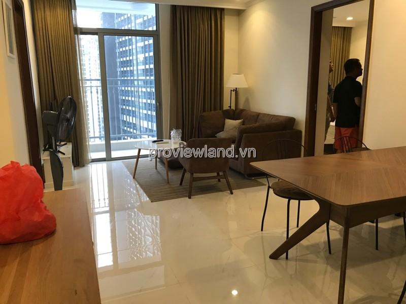 Cho thuê căn hộ Vinhomes Quận Bình Thạnh tầng cao DT 100m2 3PN