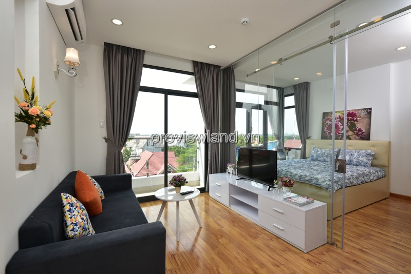 Cho thuê căn hộ dịch vụ Quận 2 đường Xuân Thủy khu thoáng mát yên tĩnh