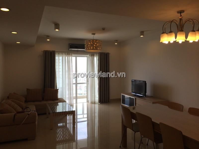 Cho thuê căn hộ River Garen Quận 2 DT 138m2 tầng 15 tháp A đầy đủ nội thất