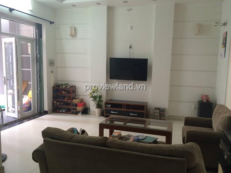 Cho thuê biệt thự phố Quận Phú Nhuận DT 230m2 3PN 1 trệt 3 lầu có sân vườn