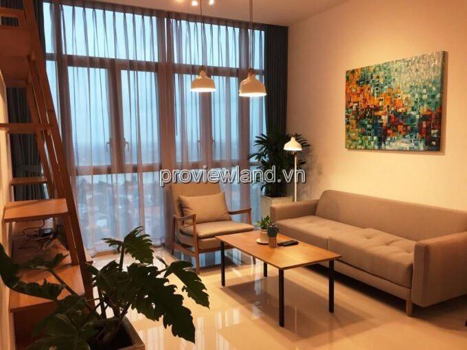 Căn hộ The Vista cho thuê tầng 7 2 phòng ngủ tháp T3 view sông Sài Gòn