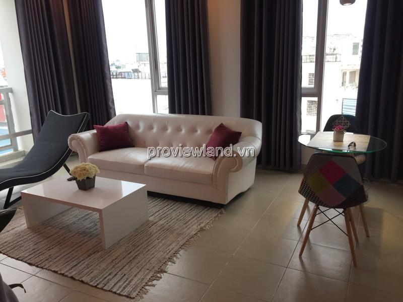 Căn hộ cao cấp Horizon Quận 1 cho thuê 2 phòng ngủ đầy đủ nội thất vị trí đẹp