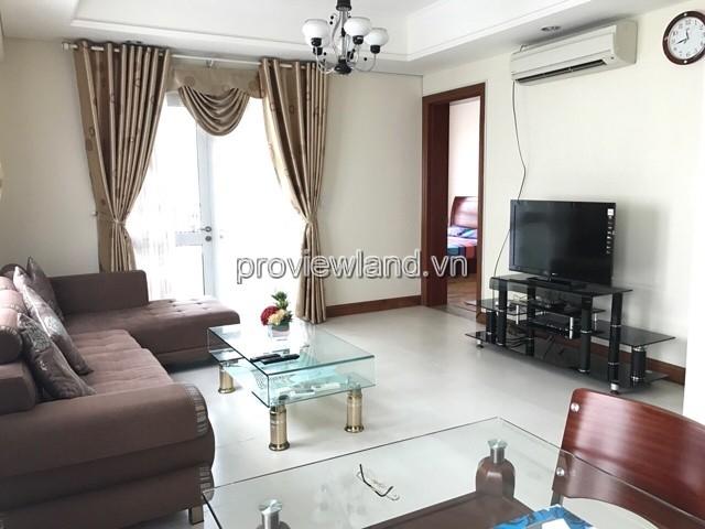 Cho thuê căn hộ The Manor Quận Bình Thạnh DT 94m2 tháp C tâng 9 2PN