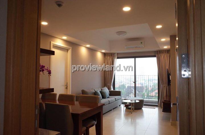 Cho thuê căn hộ Masteri 71m2 tháp T3 2PN DT 71m2 đầy đủ nội thật