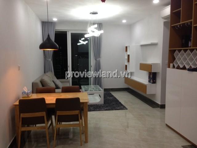 Cho thuê căn hộ Vista Verde Quận 2 DT 74m2 2PN tầng 15 đầy đủ nội thất