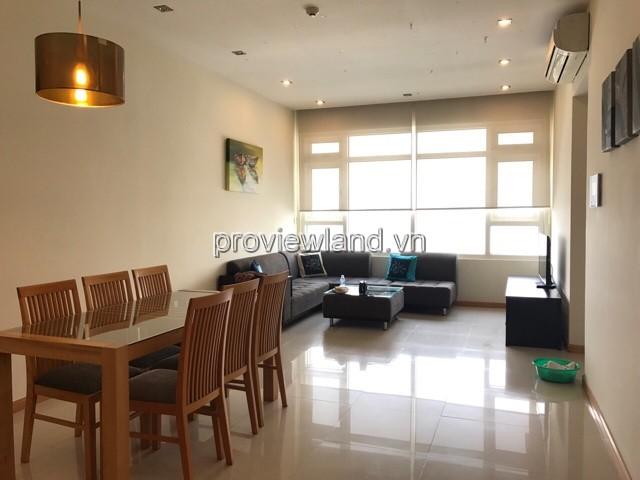 Cho thuê căn hộ Saigon Pearl tầng 16 view sông có diện tích 90m2 2PN