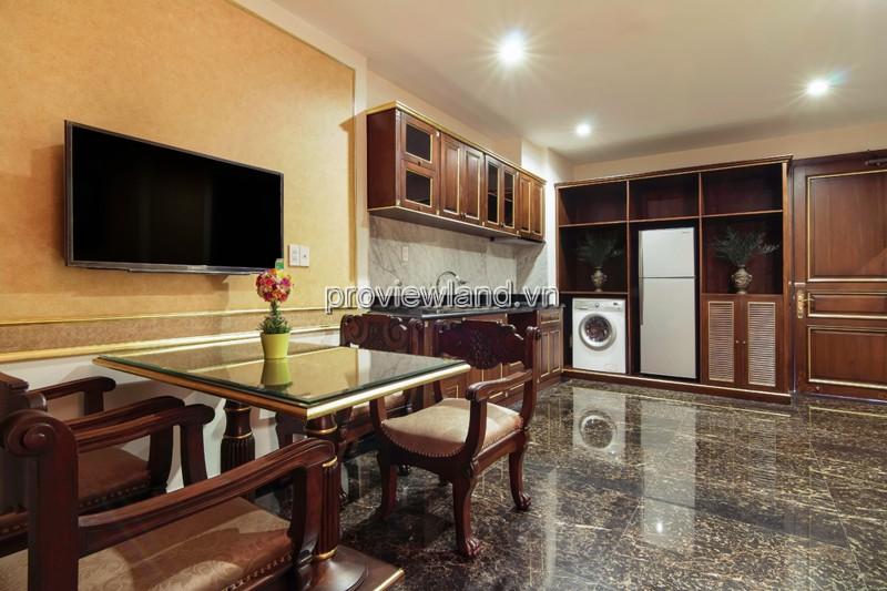 Cho thuê căn hộ dịch vụ Quận 1 đường Thạch Thị Thanh tiên nghi sang trọng cao cấp