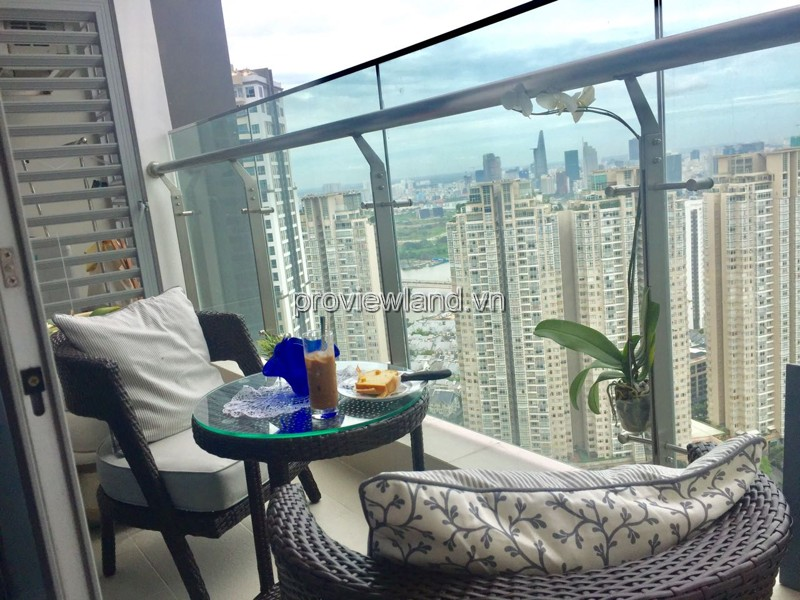 Căn hộ Vinhomes Quận Bình Thạnh cho thuê tại tầng cao DT 50m2 1PN view đẹp