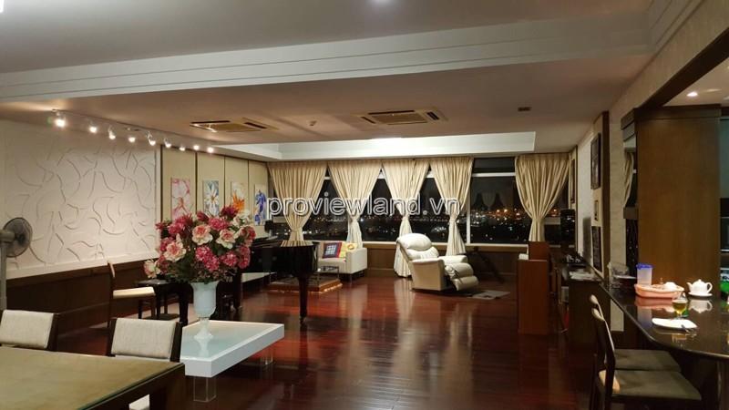 Căn hộ Saigon Pearl bán có diện tích 201m2 3PN tầng cao view sông và Quận 1