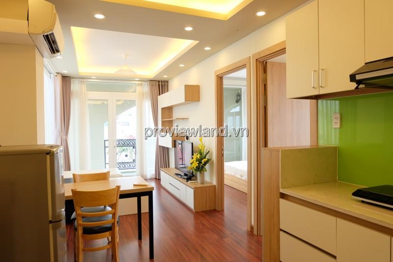 cho thuê căn hộ dịch vụ Quận 1 Batina đường Đăng Dung Tân Định 1-2PN