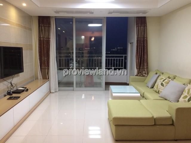 Cho thuê căn Quận 2 Cantavil Premier tầng cao 3 phòng ngủ DT 125m2 full nội thất